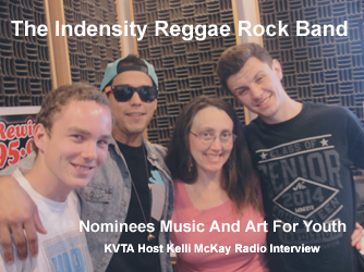 KVTA Radio Host Kelli McKay and Indensity Nominees